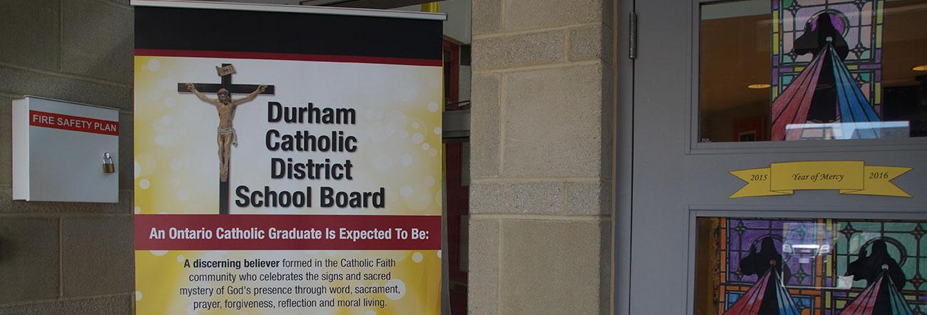 Catholic Graduate Expectations banner